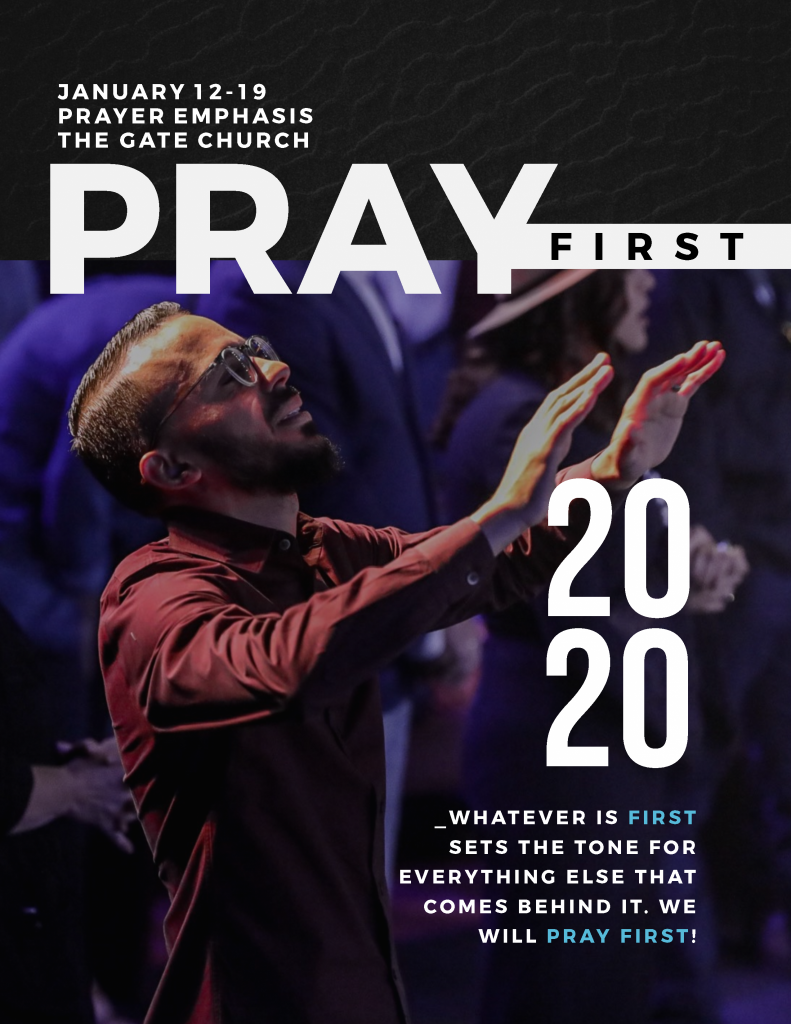 Get Your PRAY FIRST Journal